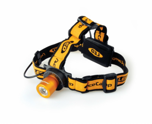 LED Headlamp with Back Light
