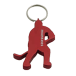 Ice Hockey Player Keyring